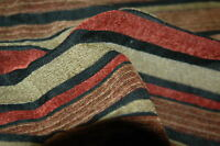 CHENILLE STRIPE  UPHOLSTERY FABRIC  2.625 YDS
