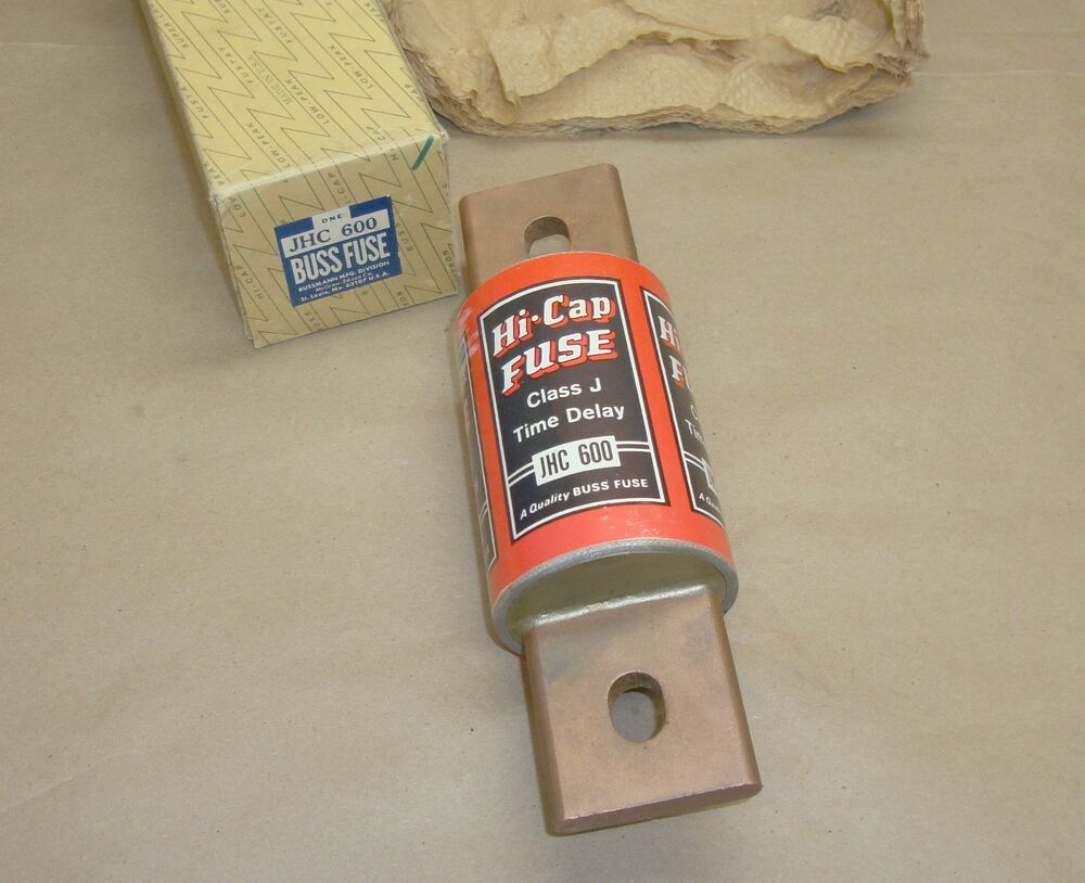 New Buss Jhc600 Fuse Jhc