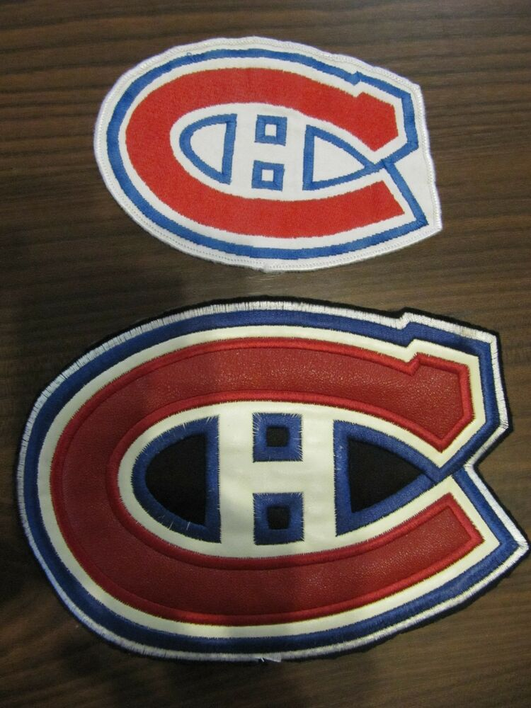 Brian gionta jersey - Three Montreal Canadiens Embroidered Jersey Crests Ebay