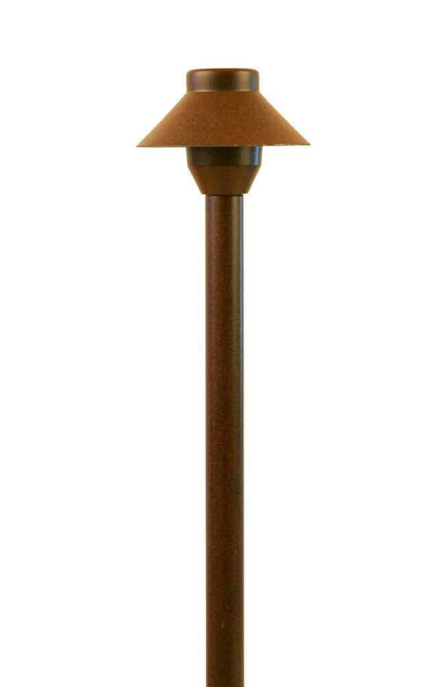 Garden low voltage landscape lighting small hat path for Low voltage walkway lights