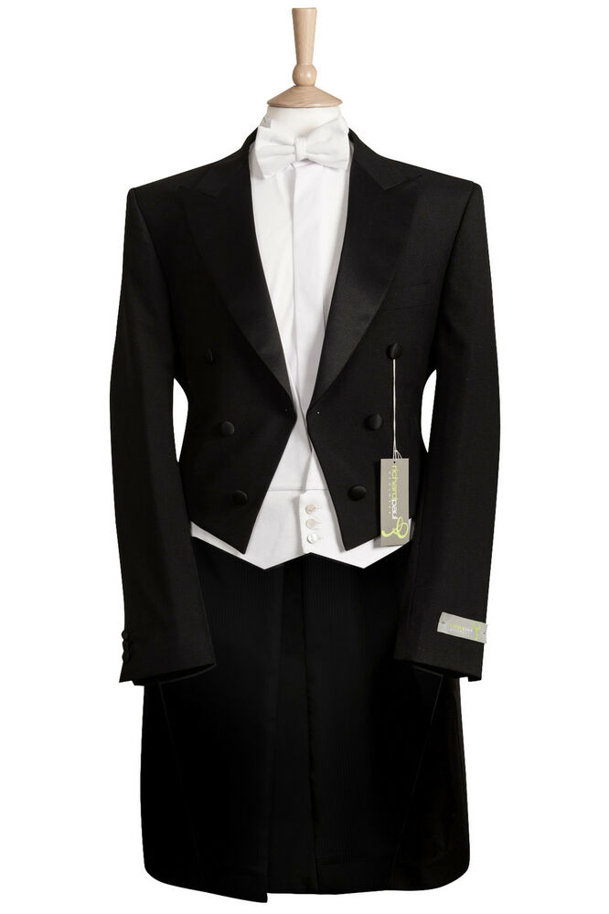 new mens black evening white tie tails dress mansion house