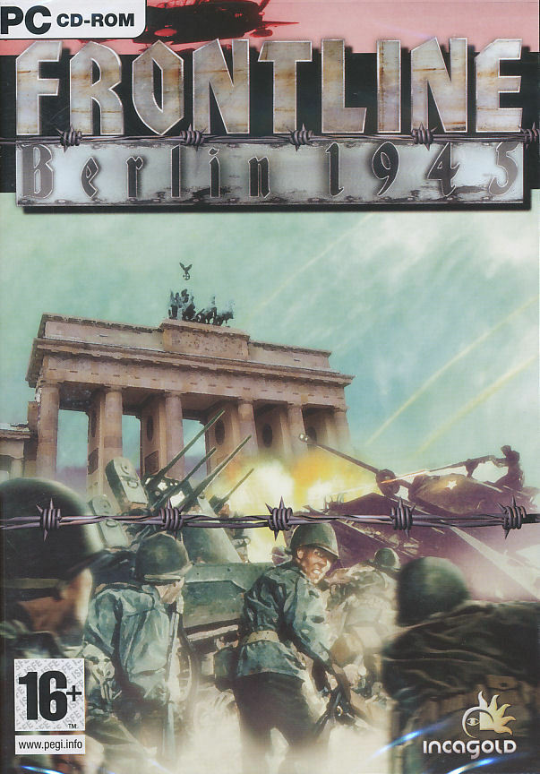 Frontline berlin 1945 ww2 action shooter pc game new in box ebay