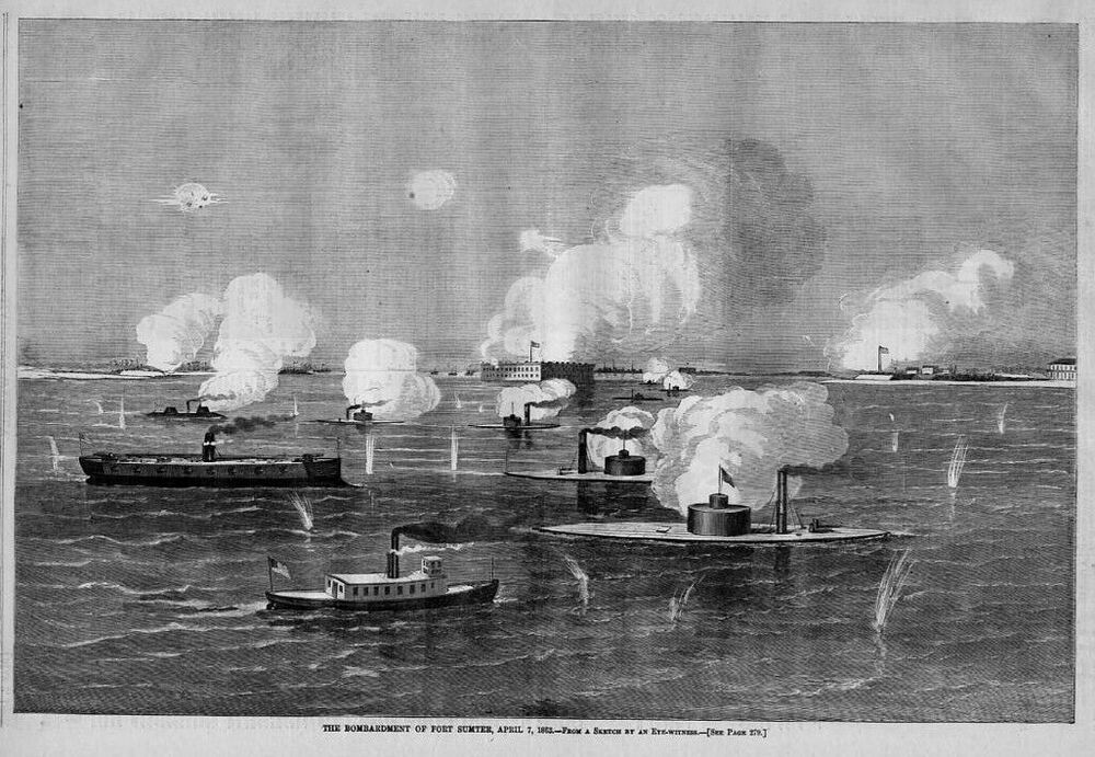 bombing of fort sumter essay The battle of fort sumter (april 12–13, 1861) was the bombardment of fort sumter near charleston [except] in case of an attack on the fort.