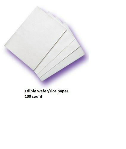 Edible Wafer Paper Rice Paper Cake Decorating 100 eBay