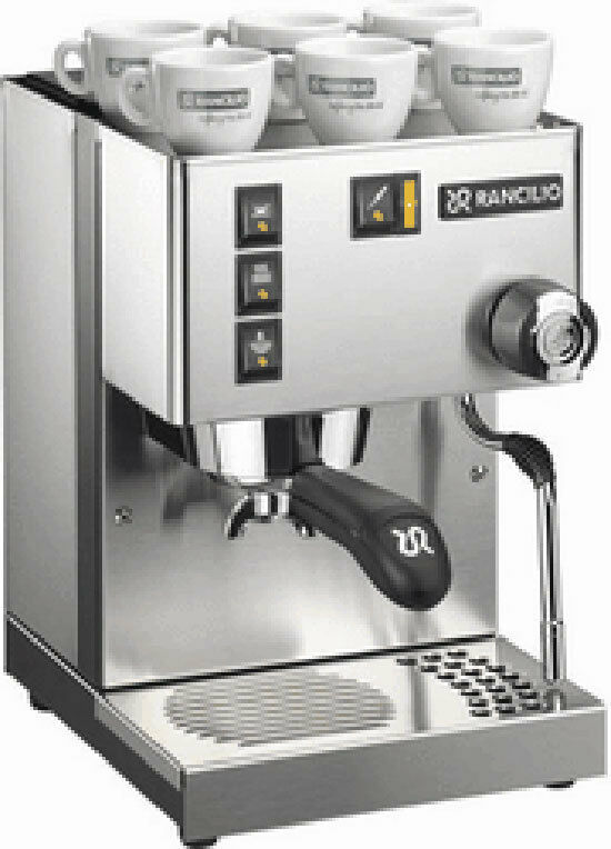 rancilio silvia m espresso machine coffee maker 33311133310 ebay. Black Bedroom Furniture Sets. Home Design Ideas