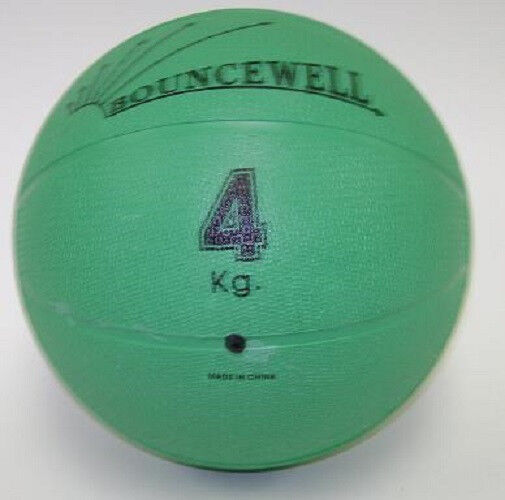 4 kg 8 8 lb rubber bouncing weighted medicine ball ebay