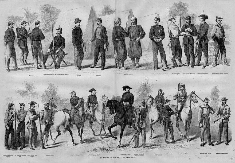confederate essay history in military Promt: choose the five most important battles of the civil war then for each of the five write a minimum of three detailed reasons as to why the battle was significant the reasons you choose may be based on a military, economic, political, diplomatic, psychological or any other.