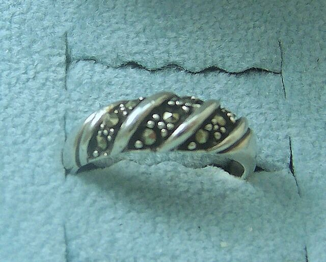 Taxco Sterling Silver Ball Ring