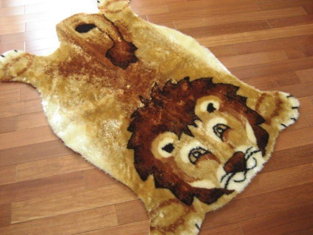 Children S Lion Jungle Nursery Rug Play Mat 3x5 New Ebay