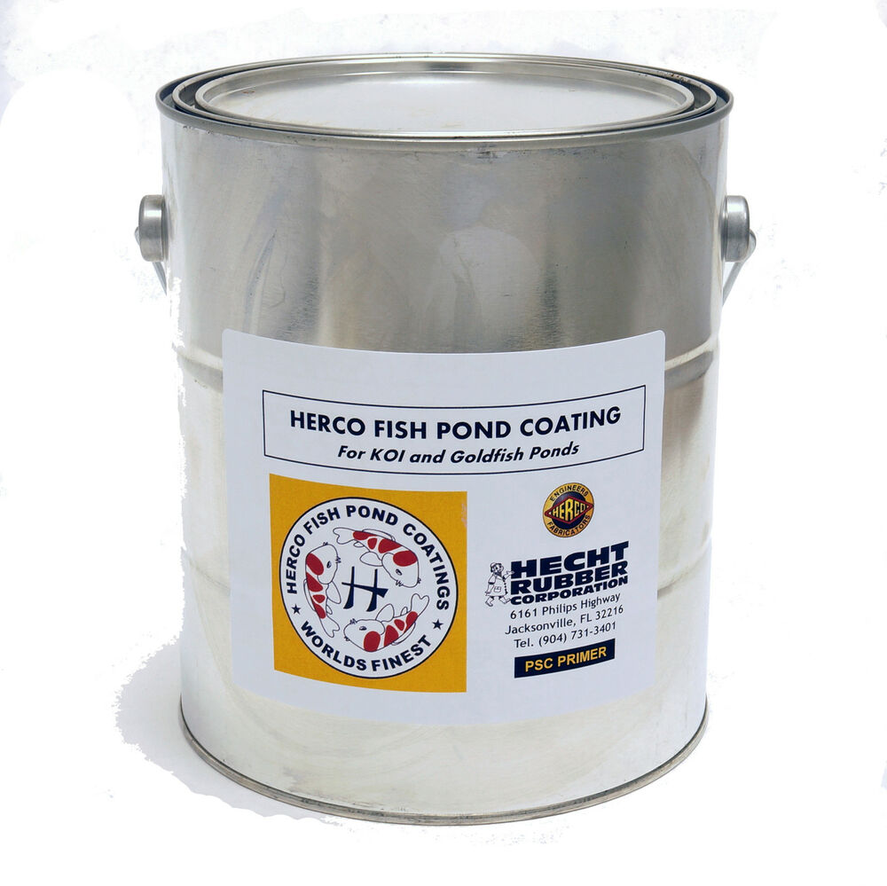 1 gal primer for herco fish pond coating ebay for Koi pond sealer