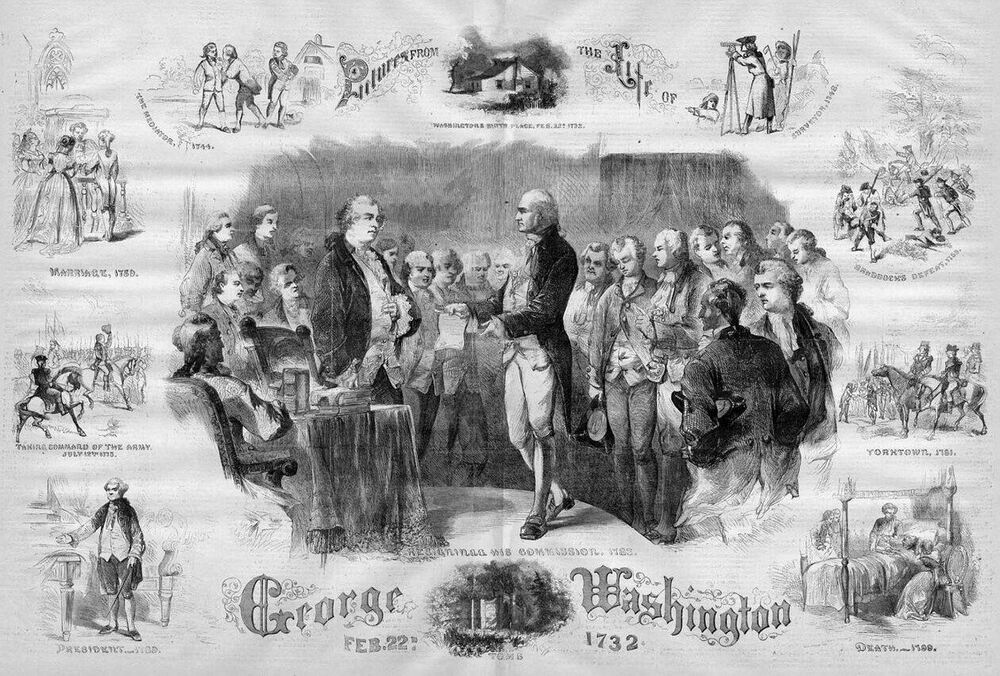 an introduction to the life and political history of george washington George washington was born on february 22, 1732, at his family's plantation on pope's creek in westmoreland county, in the british colony of virginia, to augustine washington (1694-1743) and.