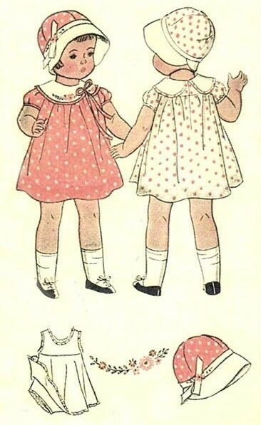 vintage 22 quot patsy doll sle doll clothes pattern ebay