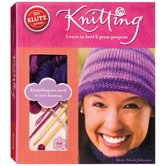 People Knitting Book : Knitting learn to knit great projects kids klutz