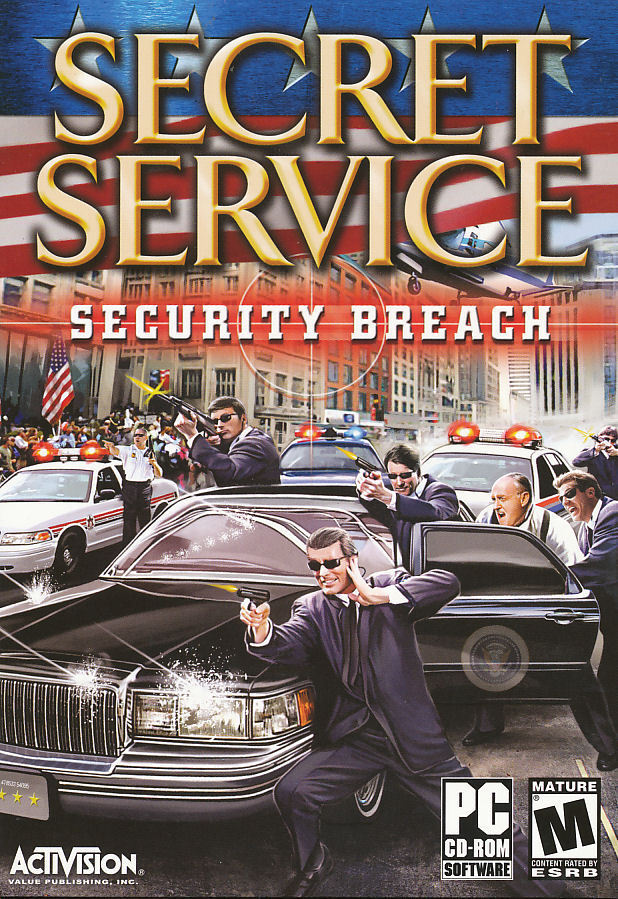 New Box Games : Secret service security breach shooter pc game new box