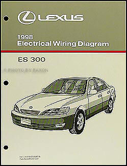 1998    Lexus       ES       300       Wiring       Diagram    Manual 98 ES300