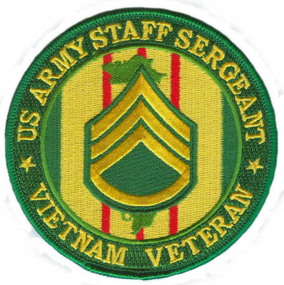 "ARMY 199TH INFANTRY BRIGADE VIETNAM VETERAN 4"" EMBROIDERED ... 