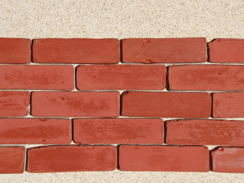 15 8x2 antique brick veneer side moulds for walls floors for 1 2 inch brick veneer