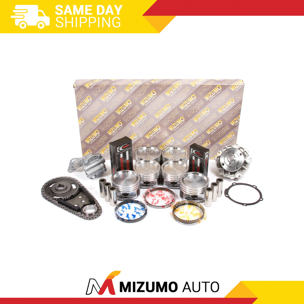Fit New Overhaul Engine Rebuild Kit 3 4l Free Shipping