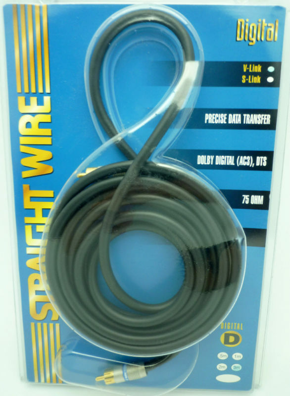 Straightwire V Link 3 meter digital coaxial cable