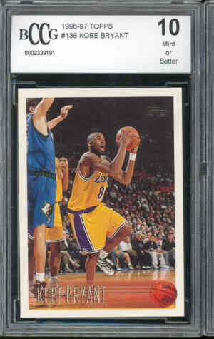 Kobe Bryant Rookie Card