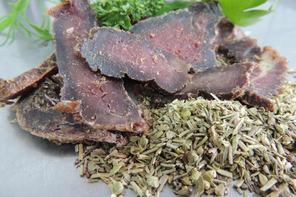 biltong sliced 100g pack kr uter de provence geschmack ebay. Black Bedroom Furniture Sets. Home Design Ideas