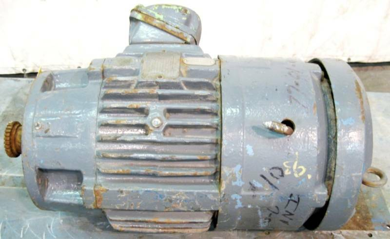 Reliance electric duty master ac motor 5hp ebay for Duty master ac motor reliance electric