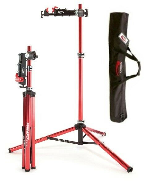 Feedback Sports Pro Elite Bike Repair Stand W Tote Bag
