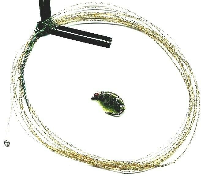 New wonderfurl moss green furled fly fishing leader with for Fly fishing leaders