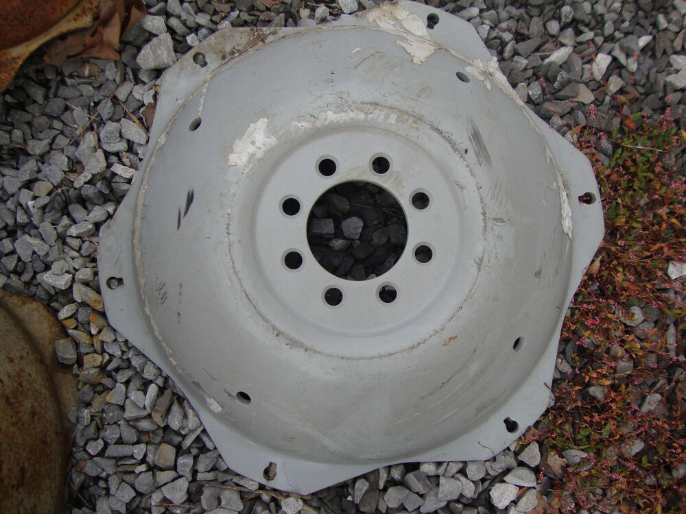 Ford Tractor Wheel Centers : Ford tractor quot rear rim wheel center n ebay