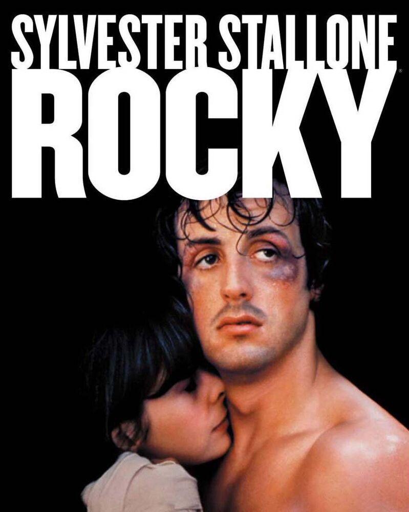 Sylvester Stallone - Rocky, Movie Poster (Phto Measuring 8 ...