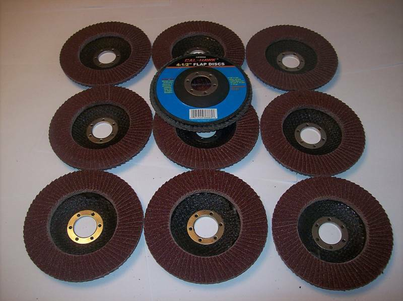 how to put sanding disc on grinder