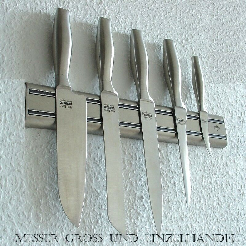 profi messer kochmesser magnetleiste michelin sitz in solingen 6tlg uvp 213 75 ebay. Black Bedroom Furniture Sets. Home Design Ideas