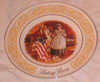 Collectible Plate Betsy Ross Avon Enoch Wedgwood Eng.