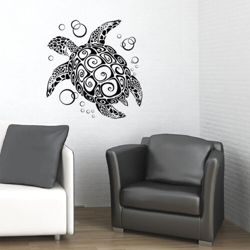 sea turtle vinyl wall decal sticker art home decor new ebay. Black Bedroom Furniture Sets. Home Design Ideas