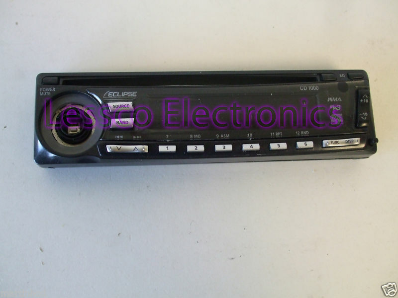 Eclipse CD1000 Car Stereo Detatchable Face Plate - KNOB