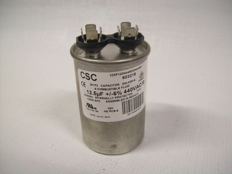 Lot Of 2 Csc 12 5uf Capacitor Eia 456 A 603216 Ebay
