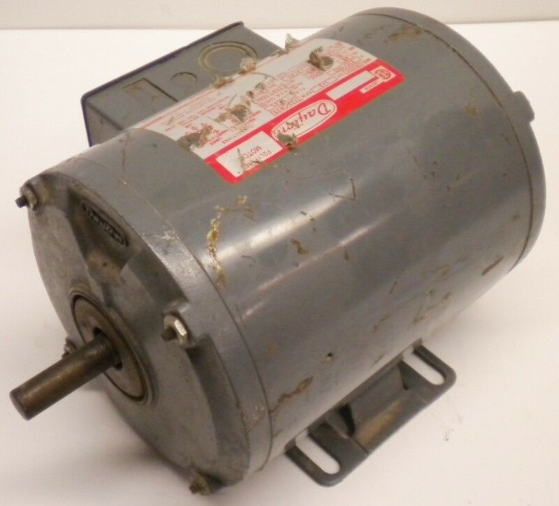 Dayton motor 1 3 hp model 3n350c 230 460 volts ebay for 1 3 hp motor