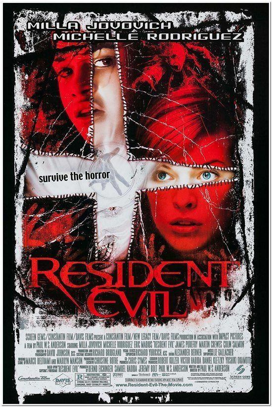 RESIDENT EVIL- orig 1-sheet movie poster MILLA JOVOVICH | eBay | 250 x 373 jpeg 36kB