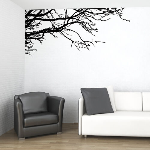 Vinyl Wall Decal Sticker Art Tree Top Branches Decor Ebay