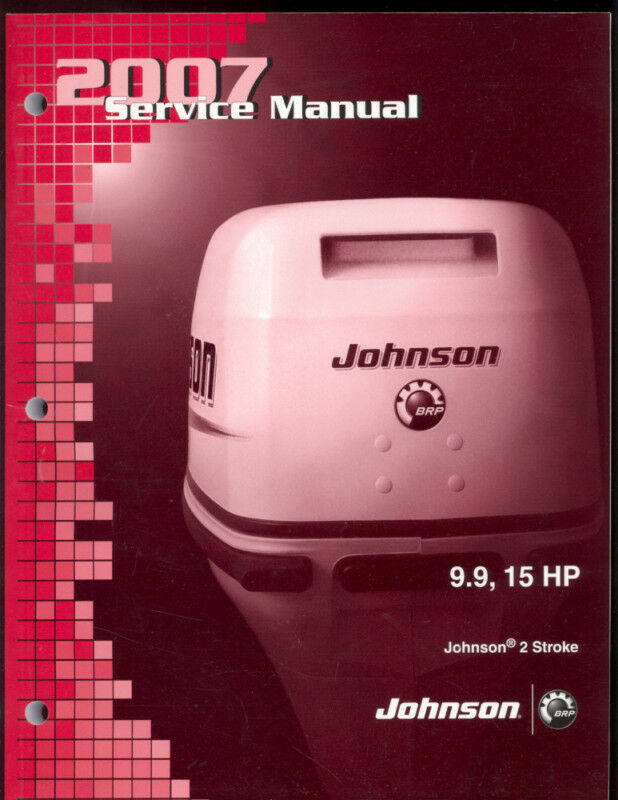 2007 johnson outboard service manual 9 9 15hp 2 stroke ebay for Yamaha 9 9 hp outboard motor manual
