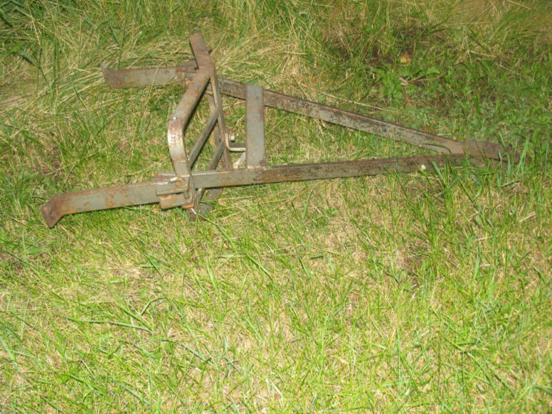 Ford Tractor Grill Guard : Ford n tractor grille guard and tow bar ebay