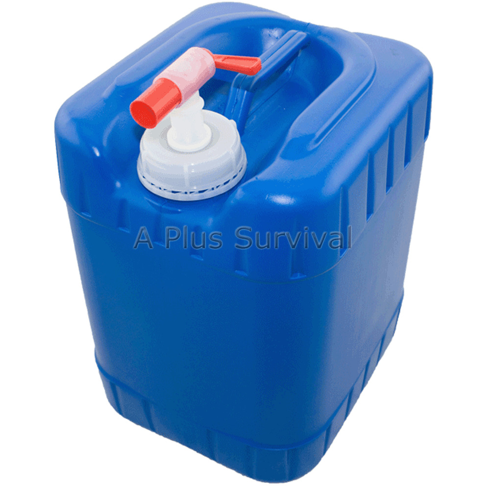 5 Gallon Stackable Hard Shell Water Carrier Container Ebay
