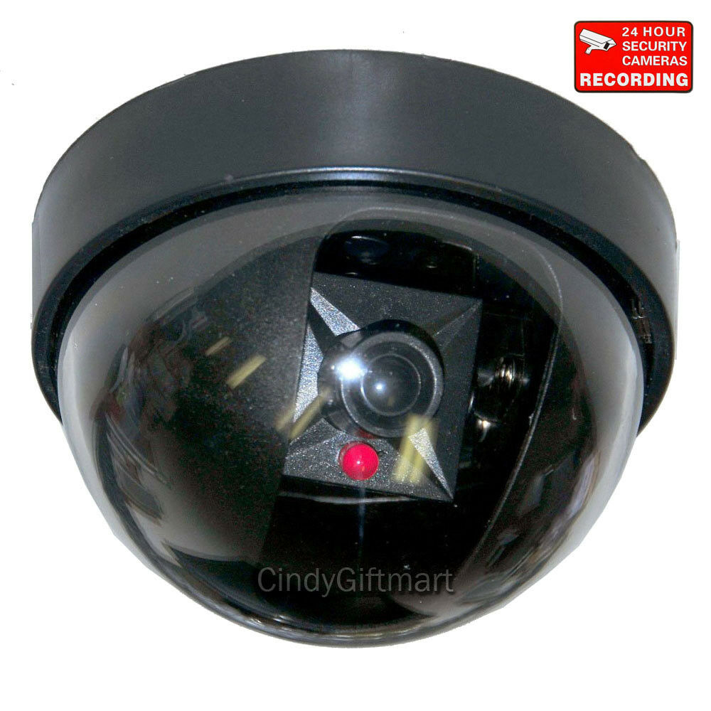 Dummy Home Indoor Fake Imitation Dome Security Camera