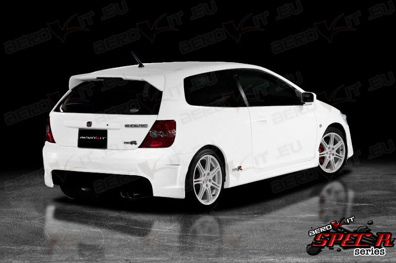 honda civic type r spec r3 rear bumper bodykits body kit. Black Bedroom Furniture Sets. Home Design Ideas
