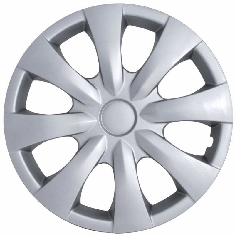 "Hubcaps For 2008 Toyota Corolla: NEW 2009-2013 TOYOTA COROLLA 15"" 8-spoke Hubcap Wheelcover"