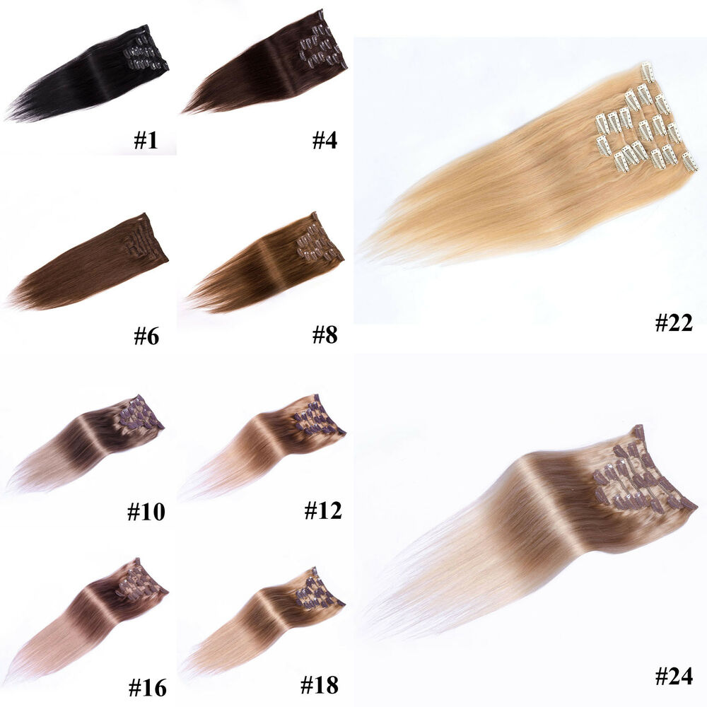 Cheap Real Human Hair Extensions Ebay Remy Indian Hair