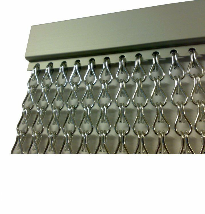 Metal Chain FLY Pest INSECT DOOR SCREEN CURTAIN Control EU