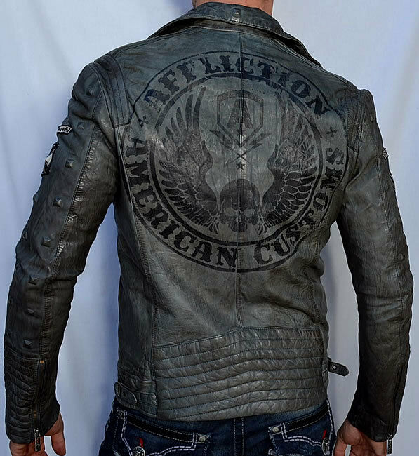 American apparel leather jacket