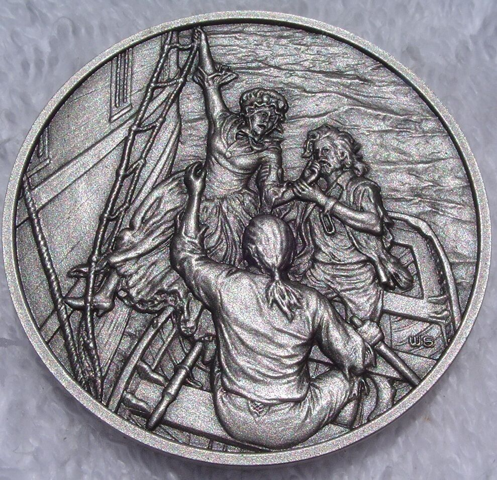 The Great Women of the American Revolution Pewter Medallions