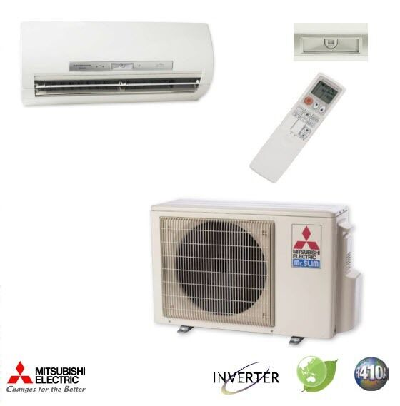 18000 BTU Mitsubishi MR.SLIM Ductless Mini Split Air